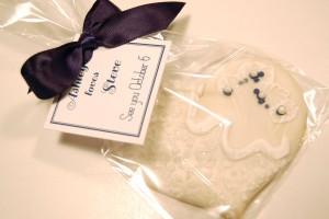 Heart Wedding Favor Cookie