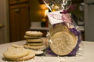 OE Wedding Favor Cookies
