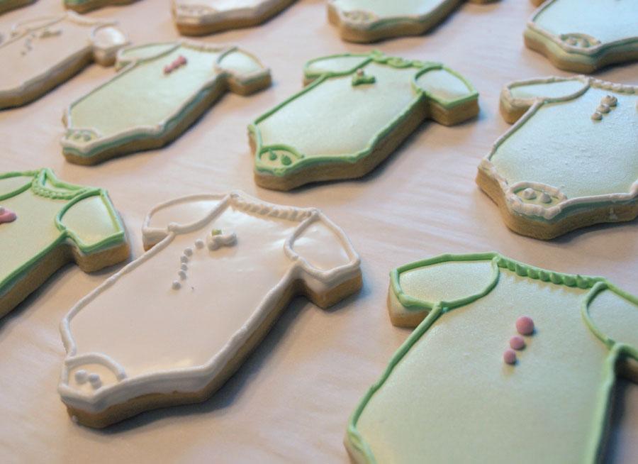Onesie Baby Cookies