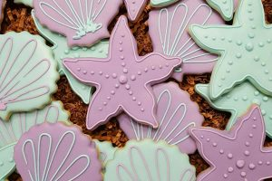 Shells and Starfish Cookies