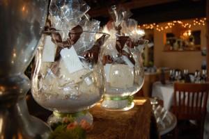 Bowl of Wedding Favor Cookies