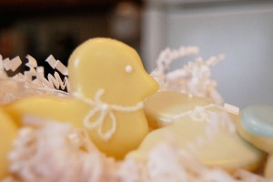 Yellow Duck Cookie
