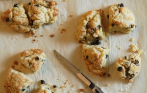 Homemade scones - Lemon Tree Cookies