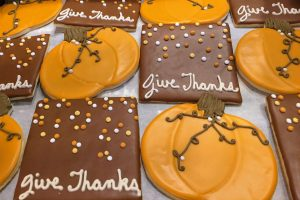Give Thanks and Pumpkin Cookies