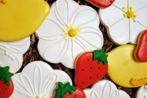 Summer Fruit and Flowers Cookies