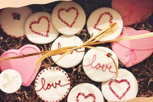 Valentines Cookie Box